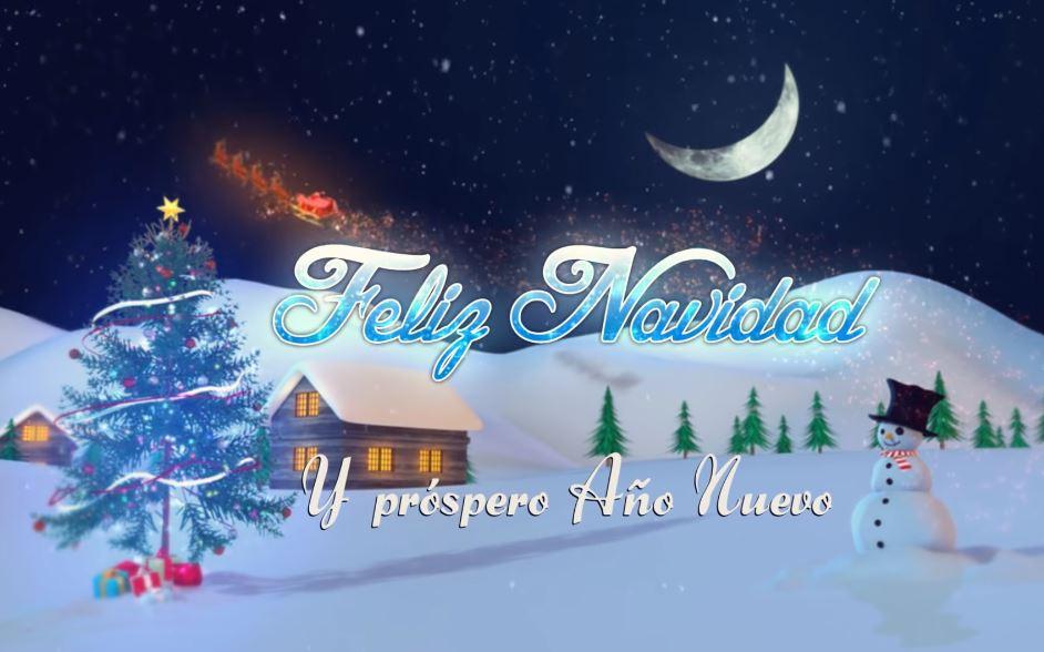 Felicitaciones De Navidad 2020 2021 Nochebuena Fin De Año